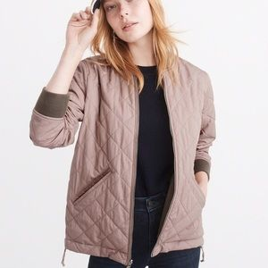 ISO  abercrombie&fitch reversible jacket